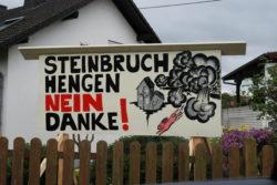 Steinbruch Hengen, nein Danke!