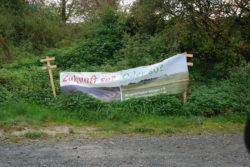 Banner im Gruenen